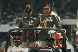 Image of Major-General Muhammadu Buhari as Nigeria's Military Head-of-State