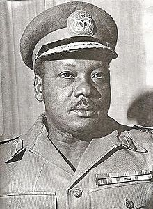 Image of Major-General Johnson T.U Aguiyi-Ironsi (1924–1966), Nigeria's First Military Head-of-State (January 16, 1966–July 29, 1966).