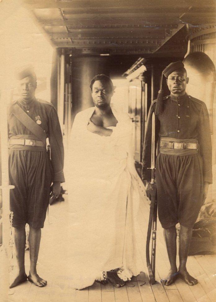 Image of Oba Ovonramwen of Benin