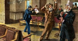 Image of Guiteau shoots Garfield