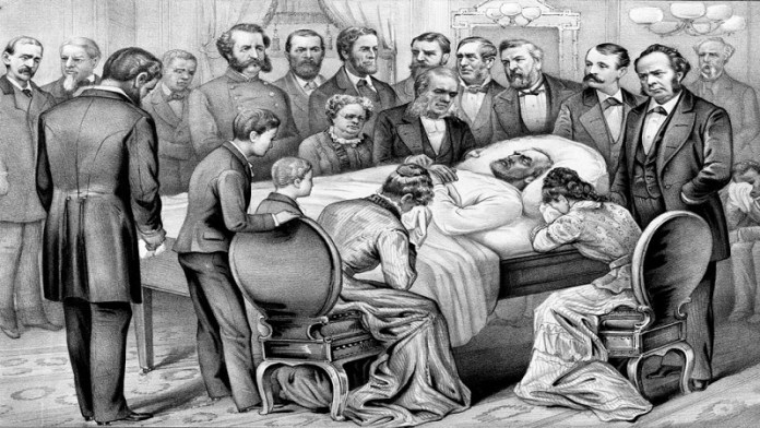 Image of President James A. Garfield death