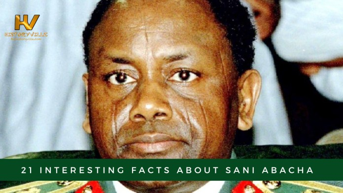 21 Interesting Facts about Sani Abacha