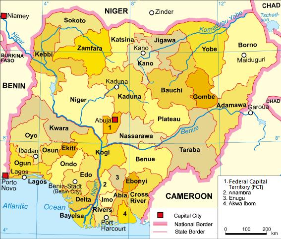 Image of Nigeria States