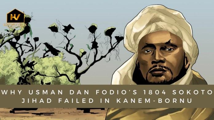 usman-dan-fodio-1804-sokoto-jihad-kanem-bornu