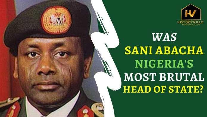 abacha's death