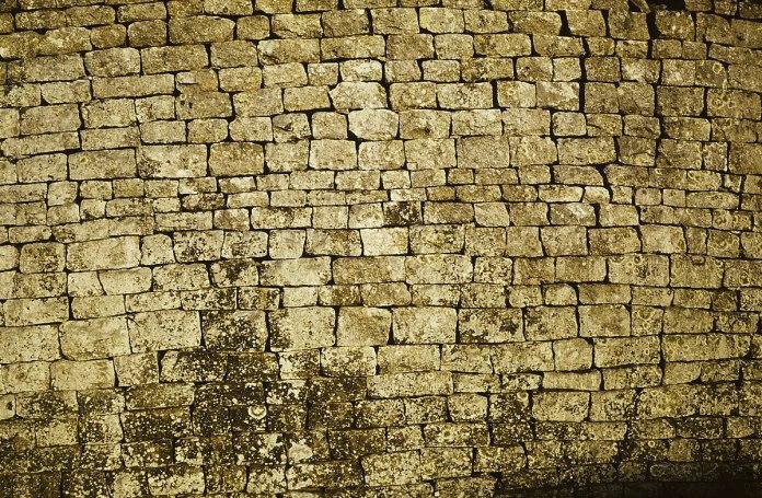 Detail of a Great Zimbabwe wall