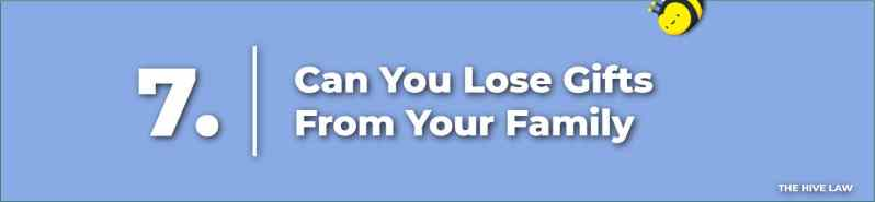 Can You Lose Gifts From Your Family - Prenuptial Agreement Checklist