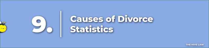 Causes of Divorce Statistics - Top Reasons For Divorce Statistics - US Divorce Rate - Divorce Statistics - Divorce Rate In America