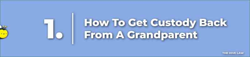 How To Get Custody Back From A Grandparent - Grandparent Rights - Grandparents Legal Right - Grandparent Custody