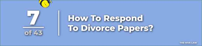 How To Respond To Divorce Papers - How To Serve Divorce Papers - How Do I Get A Copy Of My Divorce Papers