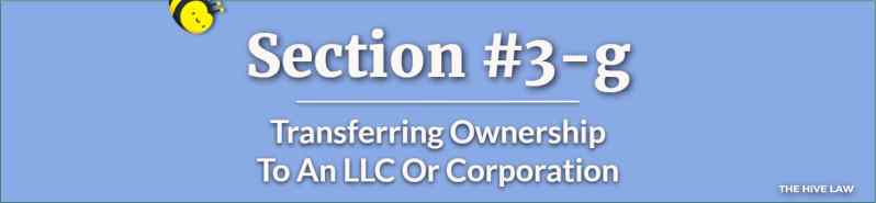 Transfer Property To An LLC or Corporation With A Georgia Quit Claim Deed