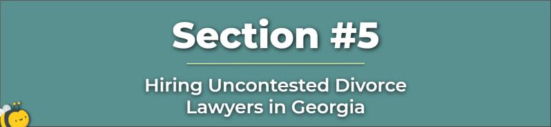 Uncontested Divorce Lawyer - Uncontested Divorce Attorney - Attorney for Uncontested Divorce