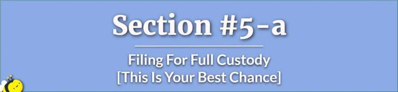 filing for full custody - chances of father getting 50 50 custody - what are the chances of a father getting full custody