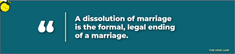what is dissolution of marriage - dissolution of marriage meaning - what is a dissolution of marriage - what is dissolution