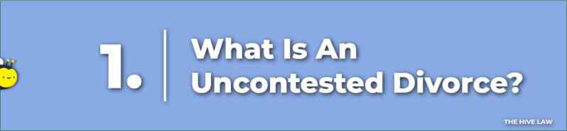 What Is An Uncontested Divorce - Cheap Uncontested Divorce In Georgia