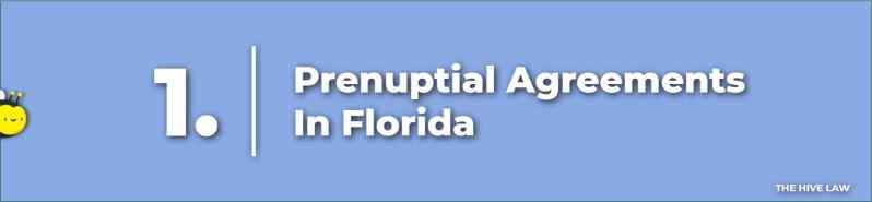 Prenuptial Agreements Florida - Prenuptial Agreement Florida - Florida Prenuptial Agreement - Prenup In Florida