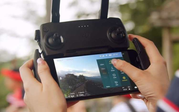 Dji fly mobile application
