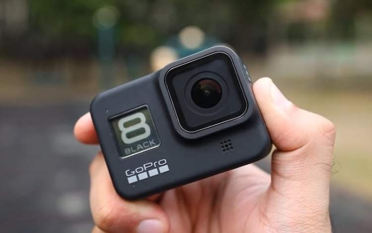 Best action camera gopro hero8 lens