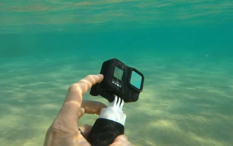 Best action camera underwater capture