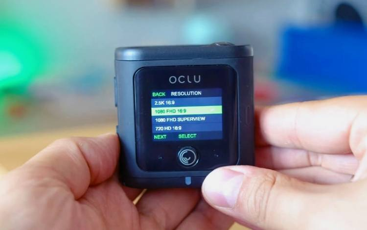 Oclu action camera video resolution