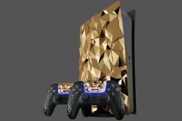 Golden PlayStation 5