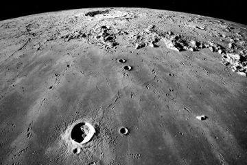 Volcanoes On Moon