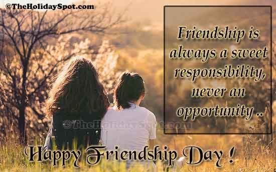 Friendship Day Greeting Cards Free Online ECards