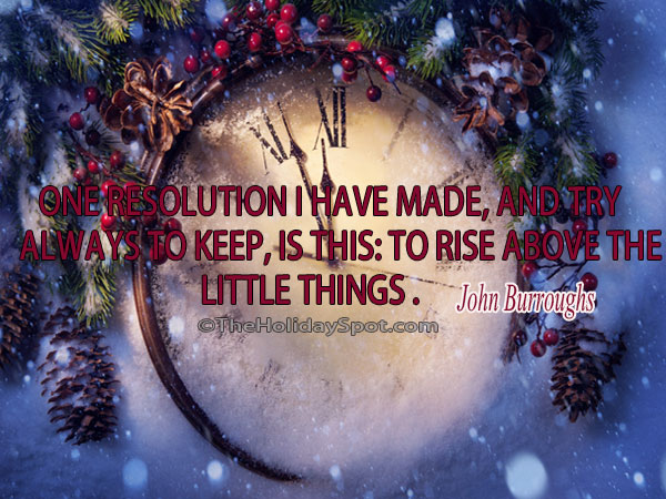 holiday new year quotes
