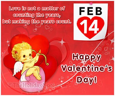 Love is not a matter of counting years