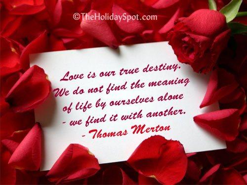 Valentine's Day Love Quotes | Short Valentine's Day ...