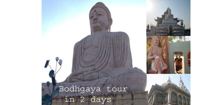 Bodhgaya tourist places list in Bihar | Total tour travel guide