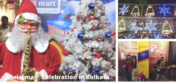 New year & Christmas Carnival celebration in Kolkata [Park street]