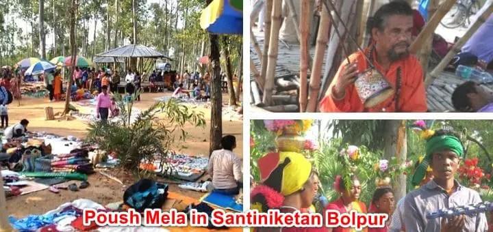 Poush Mela in Santiniketan Bolpur