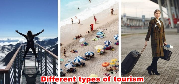 different types of tourism