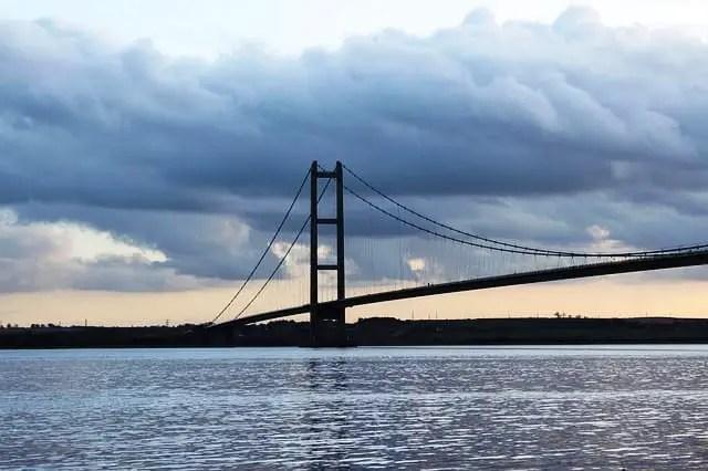 Bridge Humber Humber Bridge Hull Suspension