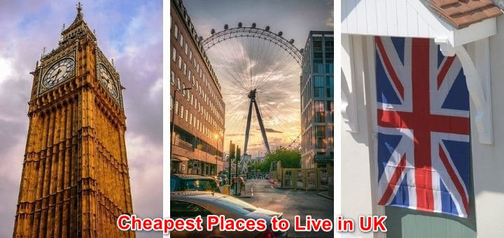 Cheapest Places to Live in UK