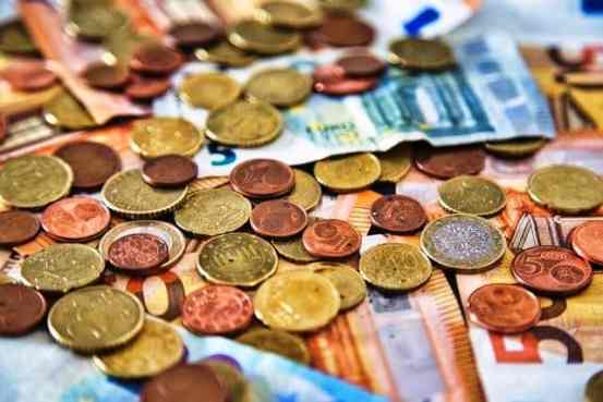 Coins Euro Currency