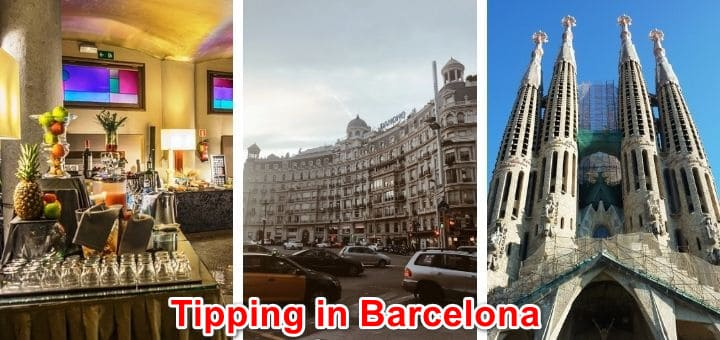 What is the best tipping policy in Barcelona Spain 2021