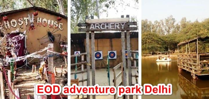 EOD adventure park delhi
