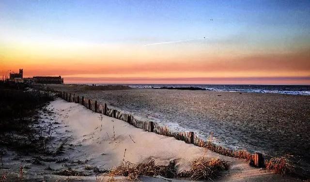 Asbury Park beach New Jersey united states