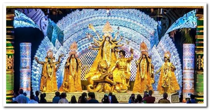Abhijeet's Lokhandwala Durgotsav Durga puja