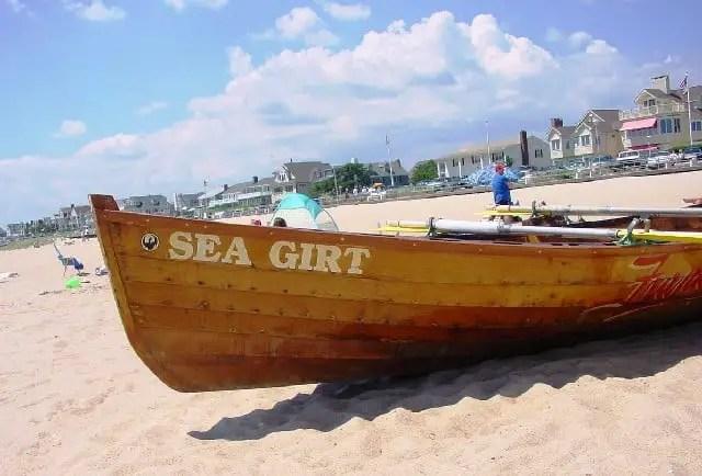 Sea girt beach