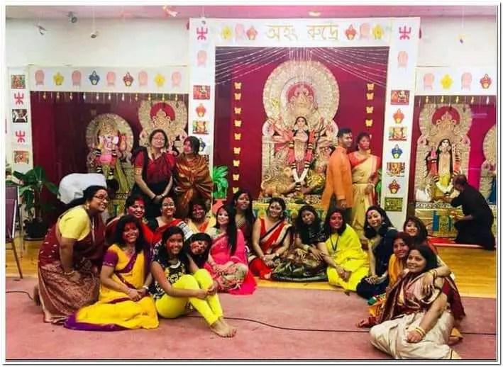 Hindu Temple Buffalo united states durga puja