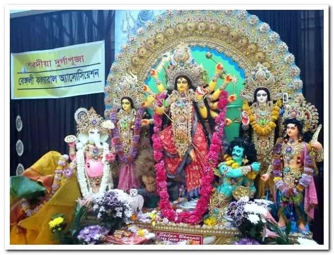 Upton park Durga puja