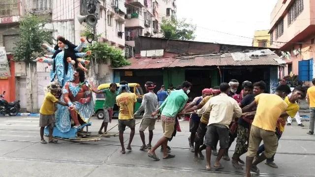 I visit Kumartuli before Durga Puja
