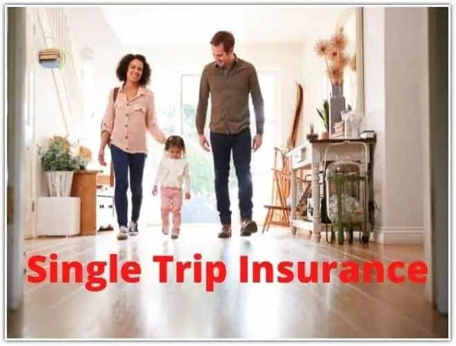 Single Trip Insurance