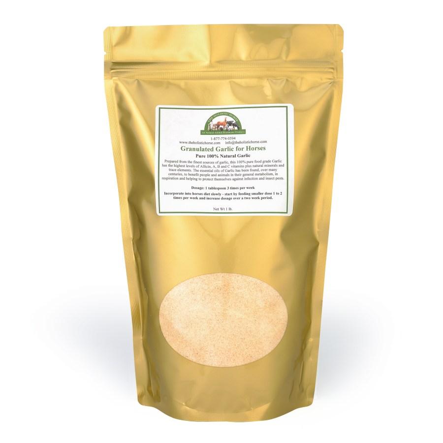 Granulated Garlic for Horses
