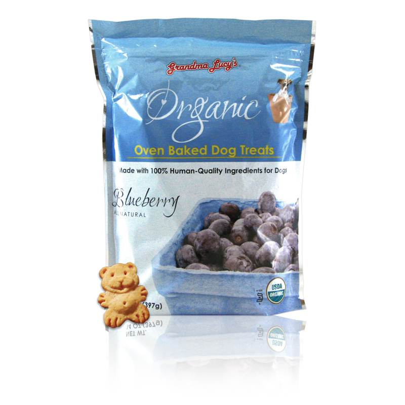 Grandma Lucys Organic Blueberry Dog Treats