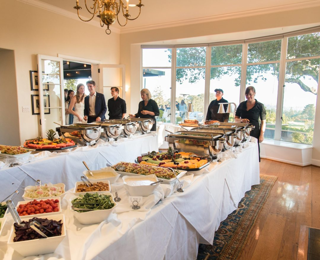 Buffet dinner in the Hollins Room by Expressive Photographics