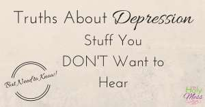 Truths about depression
